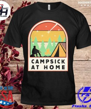 Campsick at home vintage shirt