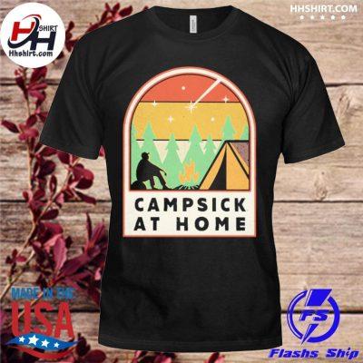 Campsick at home vintage shirt