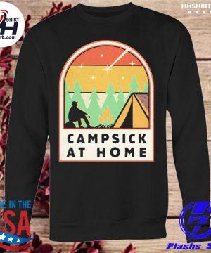 Campsick at home vintage s sweatshirt