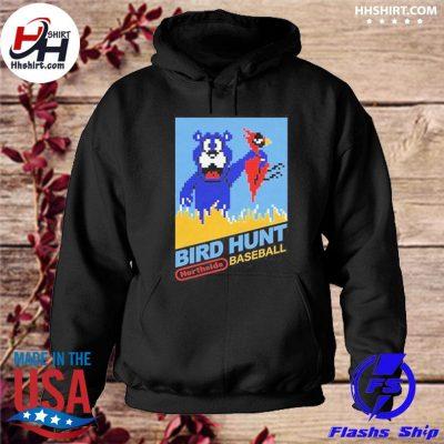 Chicago Bears Bird Hunt northside baseball t-s hoodie