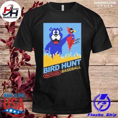 Chicago Bears Bird Hunt northside baseball t-shirt