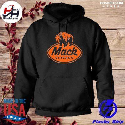 Chicago Bears mack chicago t-s hoodie