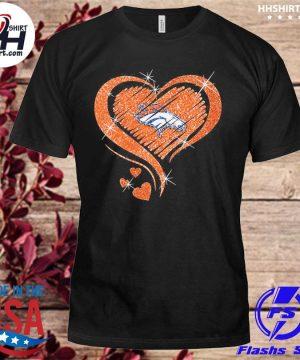 Denver Broncos hearts shirt