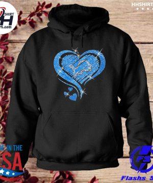 Detroit Lions hearts s hoodie