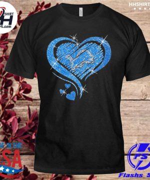 Detroit Lions hearts shirt