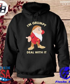 Disney Snow White I'm Grumpy Deal With It Portrait Shirt hoodie