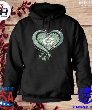 Green Bay Packers hearts s hoodie