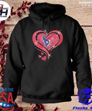 Houston Texans hearts s hoodie