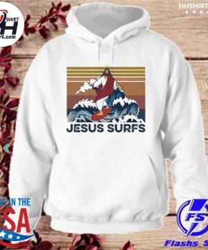 Jesus surfs vinatge s hoodie