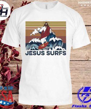 Jesus surfs vinatge shirt