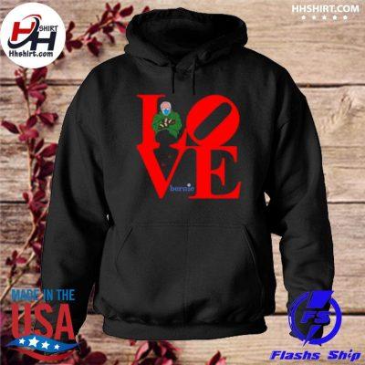 Love bernie sanders 2021 inauguration happy valentine s hoodie