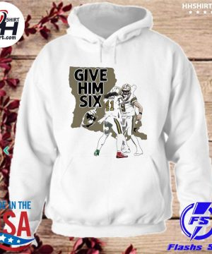Official New Orleans Saints dance give him six s hoodie