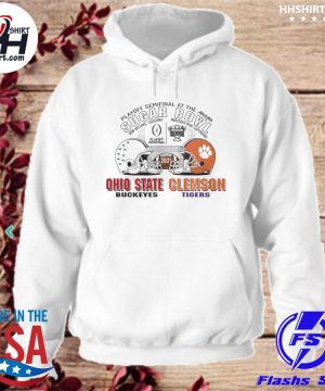Official Ohio State Buckeyes Clemson Tigers sugar bowl playoff semifinals 2021 s hoodie