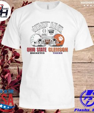 Official Ohio State Buckeyes Clemson Tigers sugar bowl playoff semifinals 2021 shirt