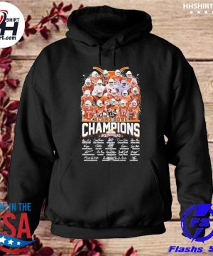 Texas Longhorns Alamo Bowl champion 2020 signatures s hoodie