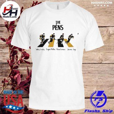 The Pittsburgh penguins sidney crosby evgeni malkin abbey road shirt