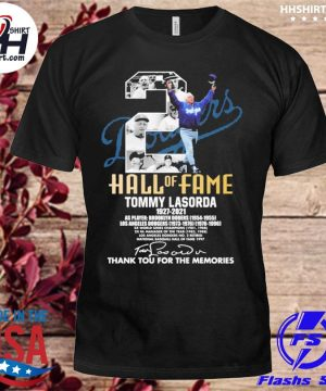 Tommy Lasorda 1927-2021 thank you for the memories shirt