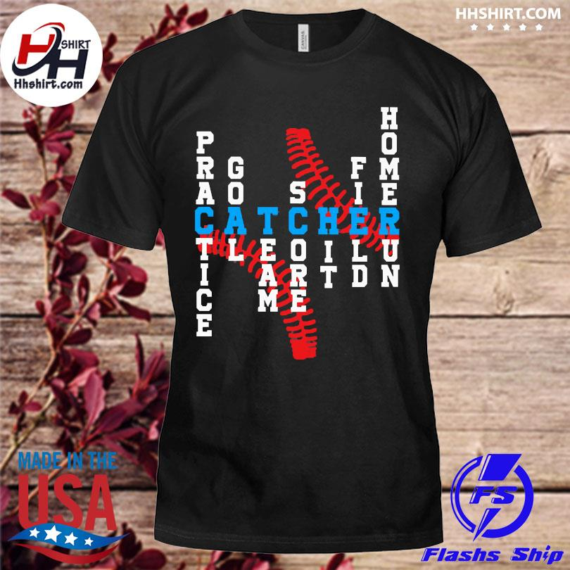 Baseball catcher shirt