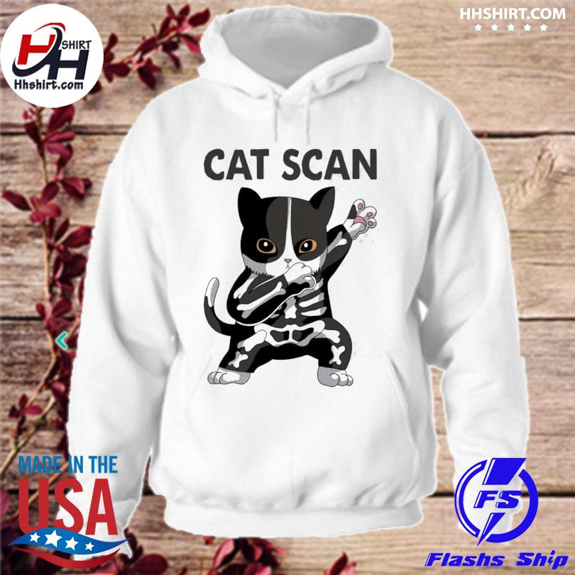 Official Dabbing Cat scan s hoodie
