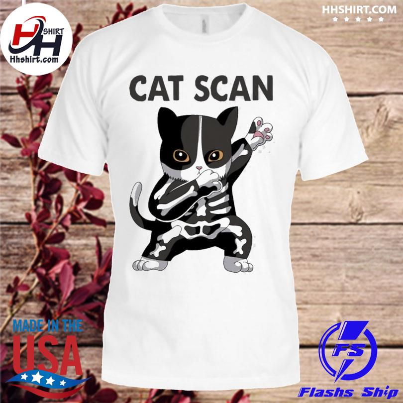 Official Dabbing Cat scan shirt
