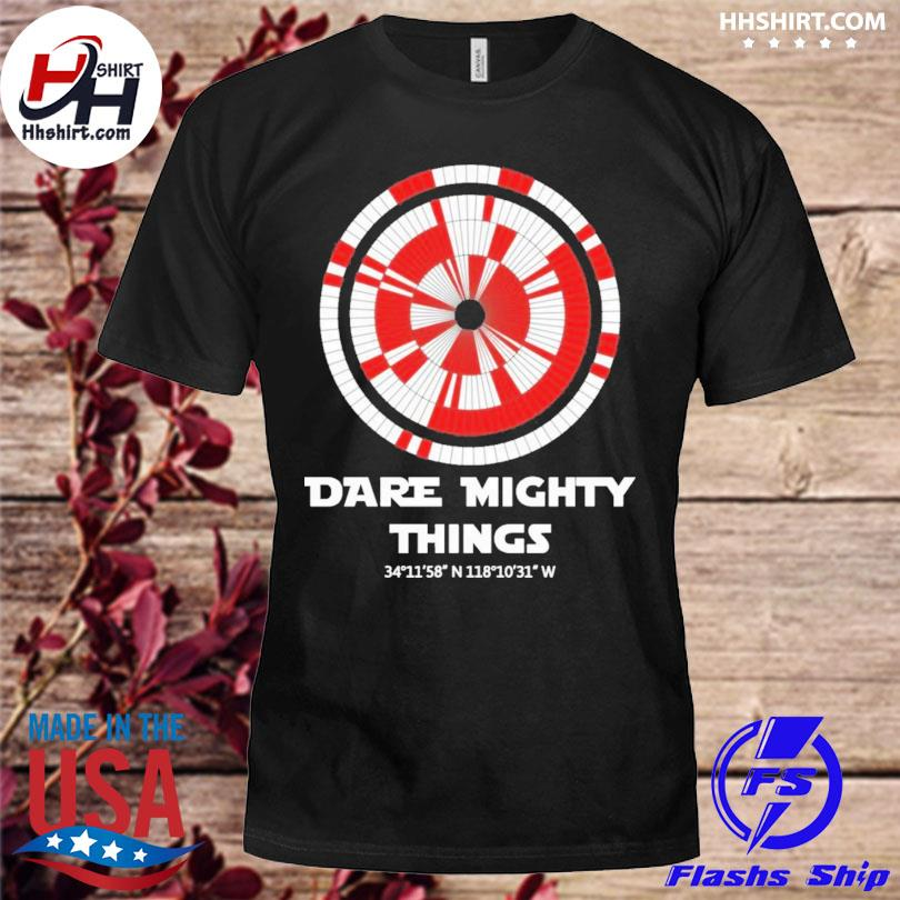 Official Dare mighty things perseverance mars rover landing parachute shirt