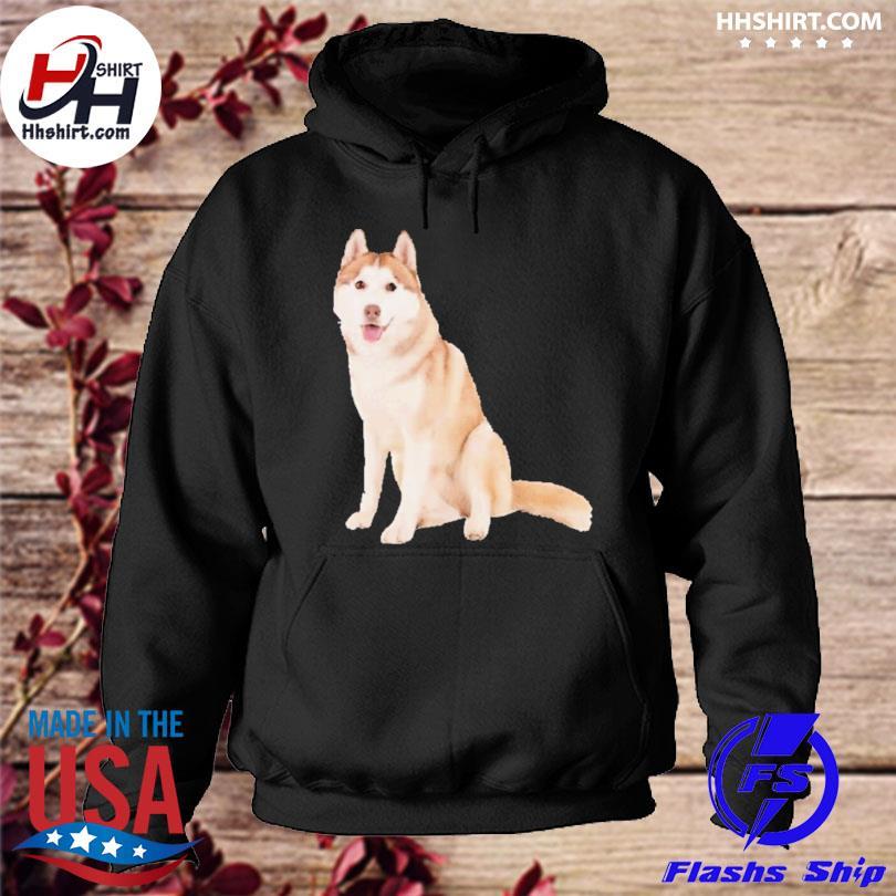 Siberian husky dog s hoodie