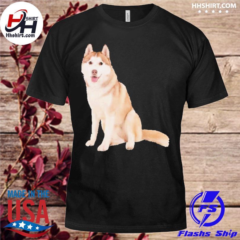 Siberian husky dog shirt