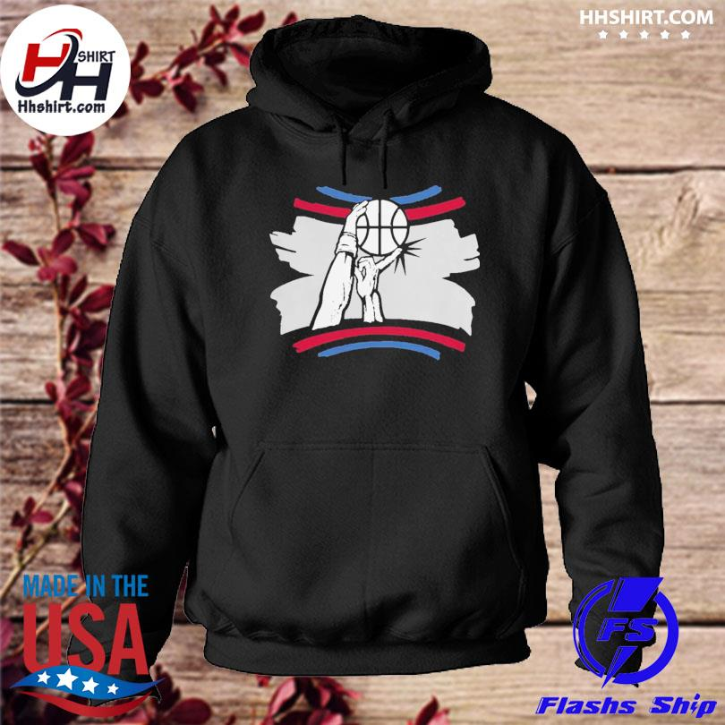 The finger block los angeles basketball 2021 s hoodie