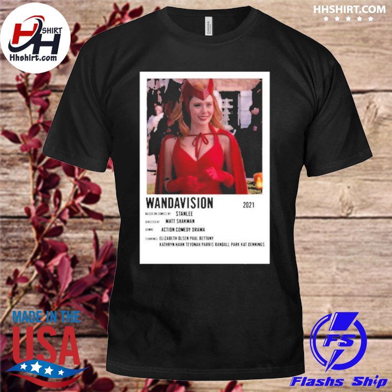 Wandavision 2021 based on comics stan lee shirt