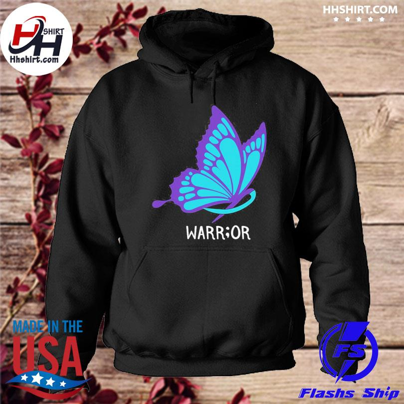 Butterfly warrior suicide awareness s hoodie